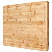 Premium Organic Bamboo Cutting Board [Heim Concept]
